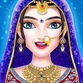 Indian Wedding Bride Royal Queen Fashion Makeover