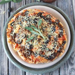Sage, Sausage, Olive Pizza Pull-Apart Loaf