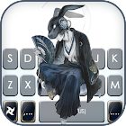 Cool Anime Maskman Keyboard Background