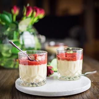 Semolina Pudding with Strawberry Chia Jam Recipe