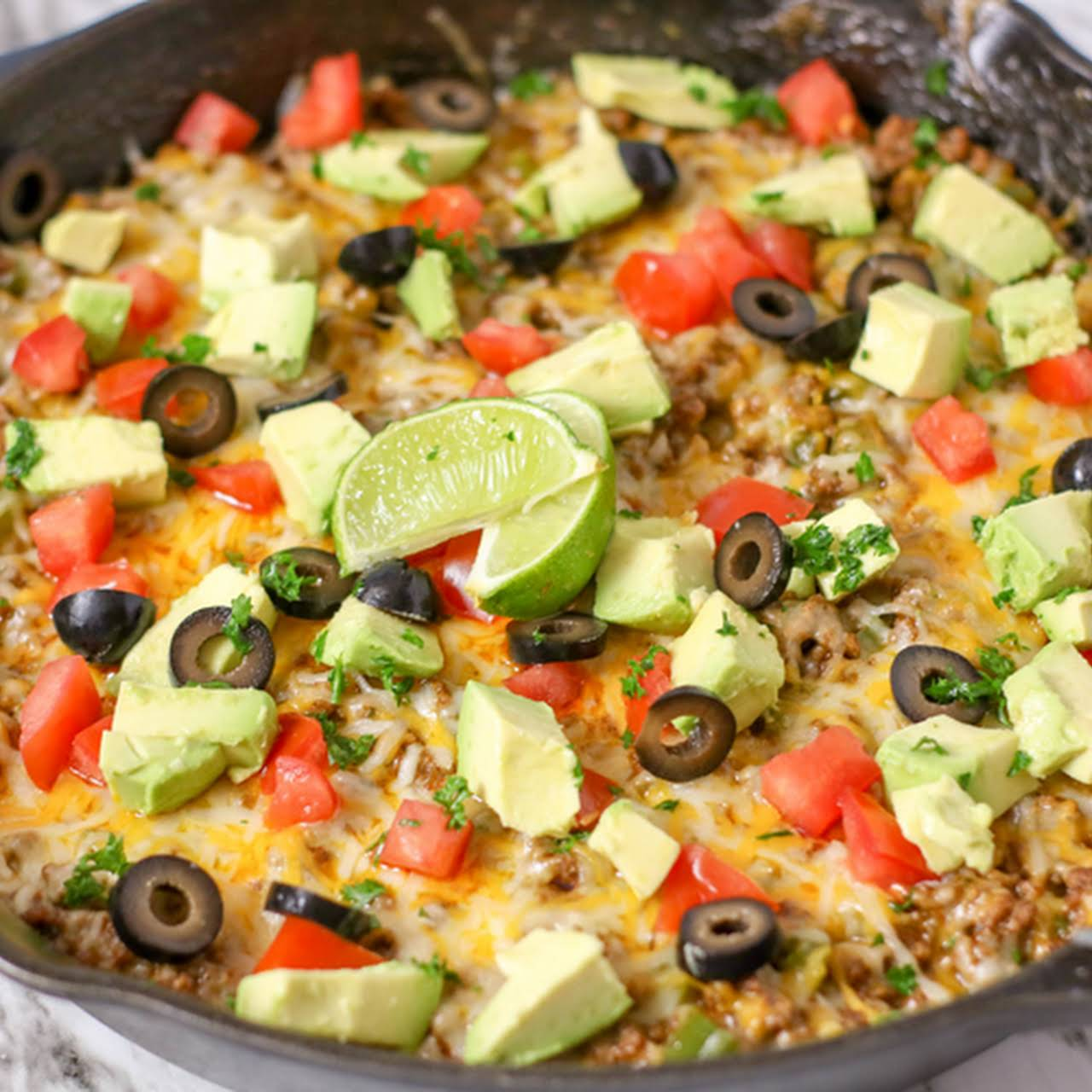 Taco Skillet Dinner (Low Carb)