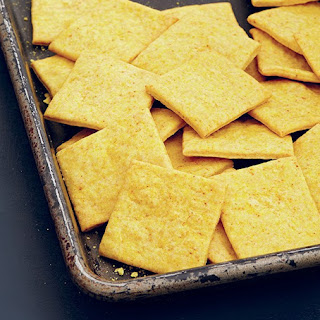 Robin Robertson's Cheesy Crackers.