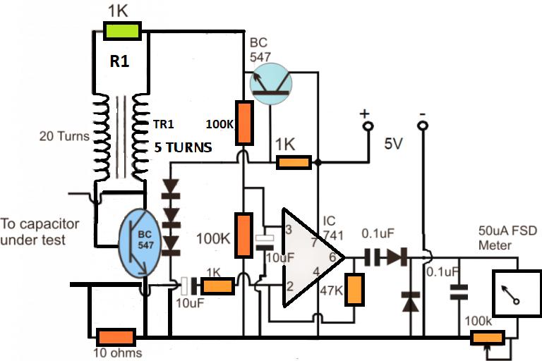 ESR Circuit Diagram