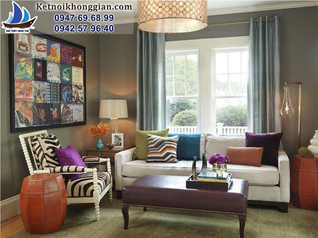 thiết kế phòng khách thoải mái