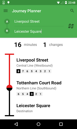 London Tube Live Pro screenshot 2