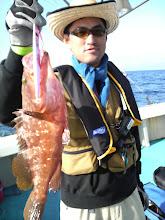 "Photo: 当船、発乗船の""ヨコハマさん""!アラカブゲット!"