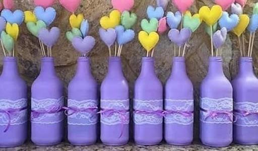 Bottle Decor workshop