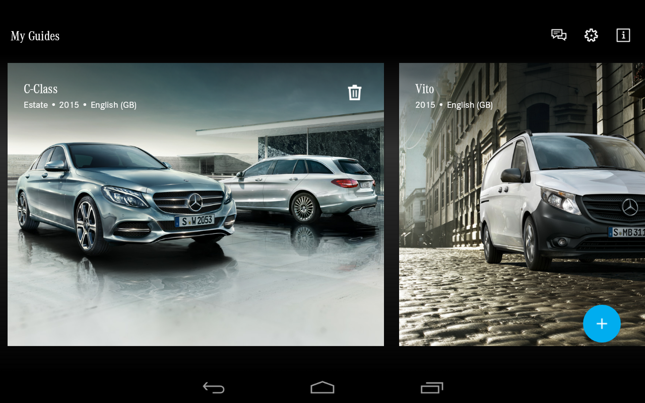 Mercedes-Benz Guides- screenshot