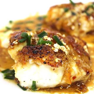 Cod with Asian Orange Glaze Recipe