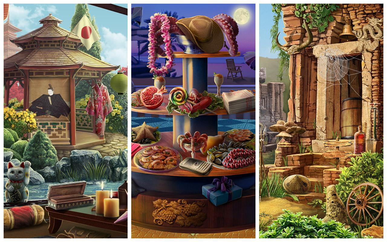 Secret Asia: Hidden Object Adventure- screenshot