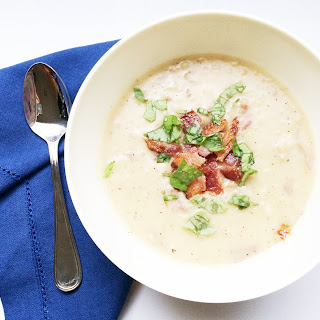 Creamy Potato [&] Bacon Soup…You would never know it's Whole 30 Approved!.