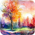 Art Watercolor Paintings Ideas APK