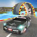 Boost Racer 3D: Extreme Ramp Car Stunts Racing Fun icon