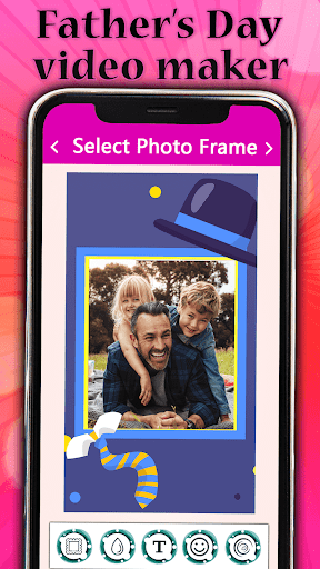 Father's day Video Maker with Song 2020 screenshot 7