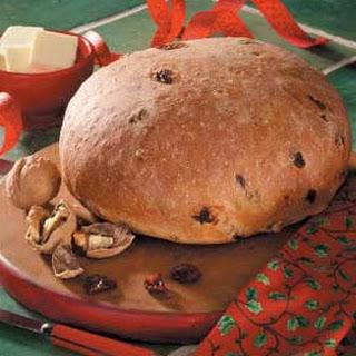 Cherry Walnut Yeast Bread.