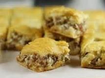 Sausage Cream Cheese Squares Recipe