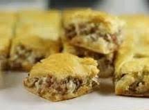 Sausage Cream Cheese Squares