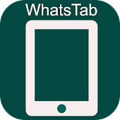 Tablet for WhatsApp Web