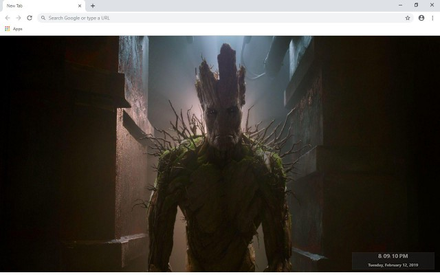 Groot New Tab & Wallpapers Collection
