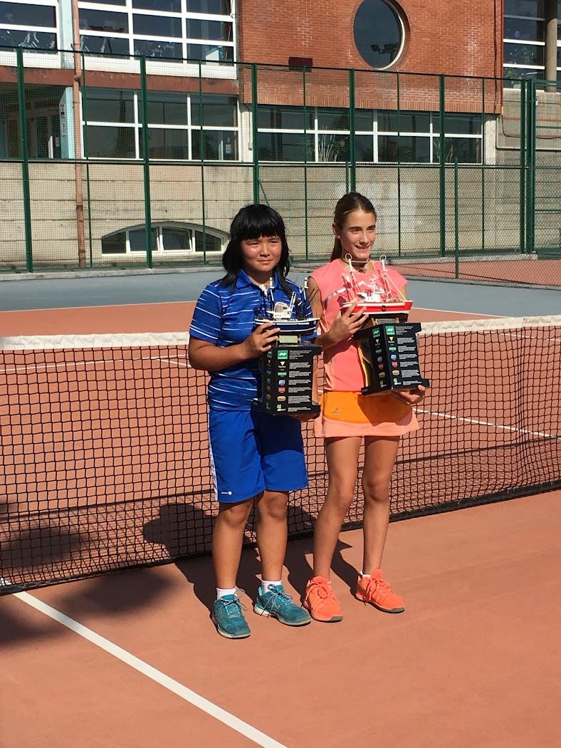 Ganadores jugadores alevín en el torneo CT Santurtzi 2016