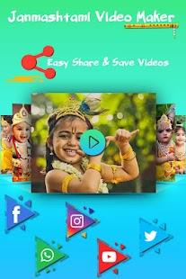 Download Janmashtmi Photo Video Maker For PC Windows and Mac apk screenshot 4