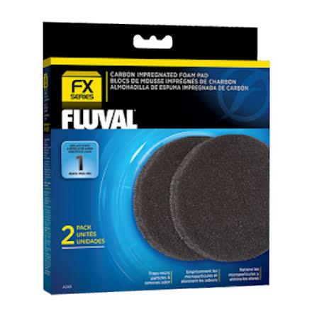Filtermatta Aktivt kol Fluval ytterfilter FX4, FX5, FX6