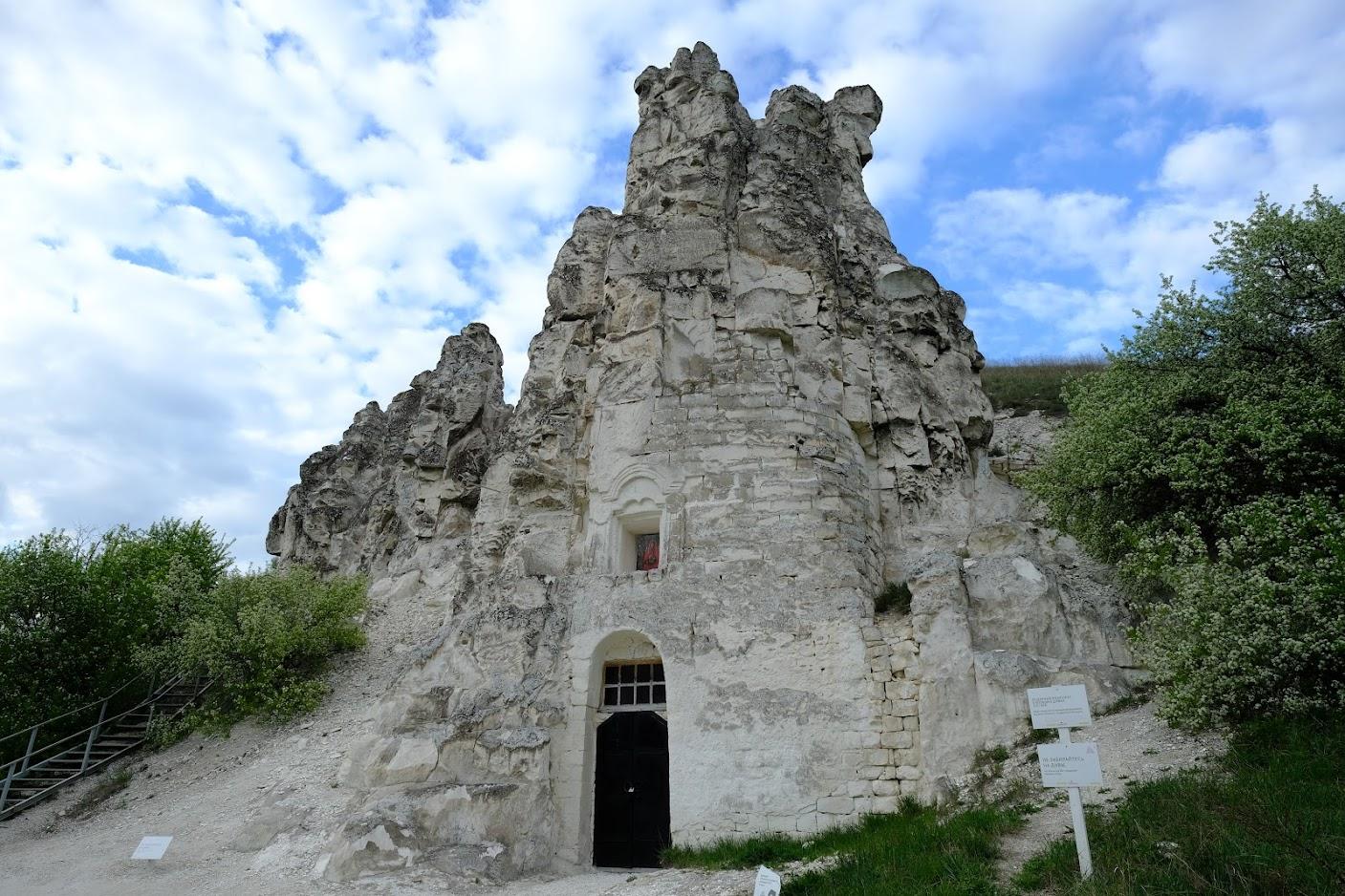 Пещерная церковь в Больших Дивах -Церковь Сицилийской иконы Божией Матери.