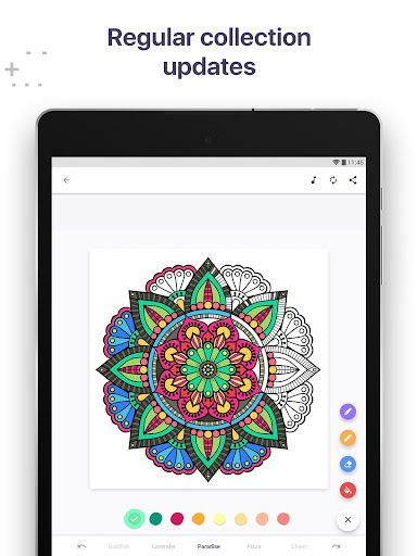 Coloring Book for Me & Mandala  screenshots 10