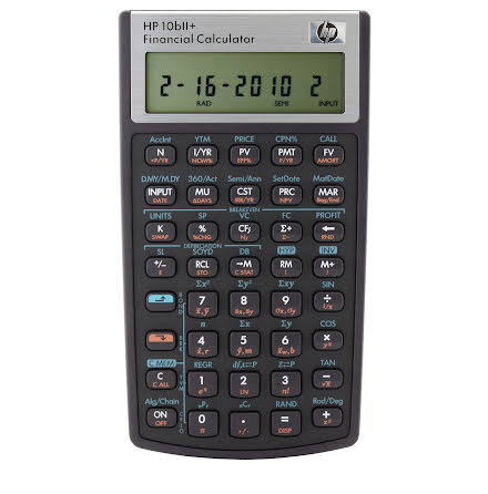Kalkylator HP-10bII+