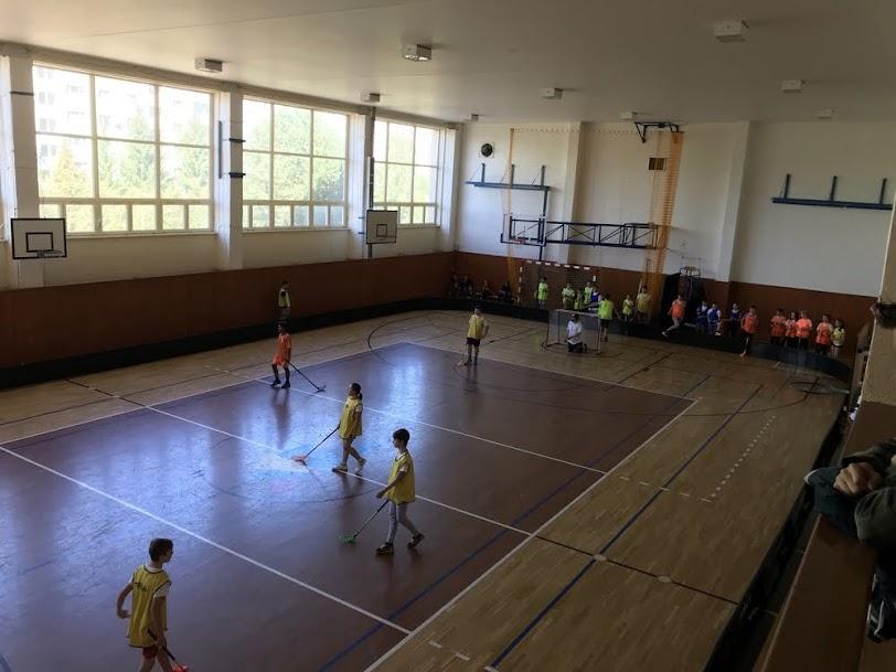 Priateľský zápas so žiakmi Spojenej školy internátnej