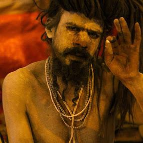 NAGA YOGI... by Kishan Shah - People Portraits of Men