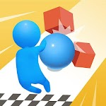Bump Go—fun parkour & shooting game Icon