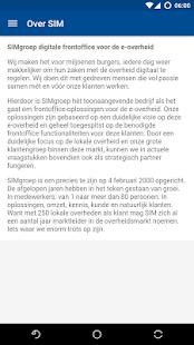 SIMgroep - náhled