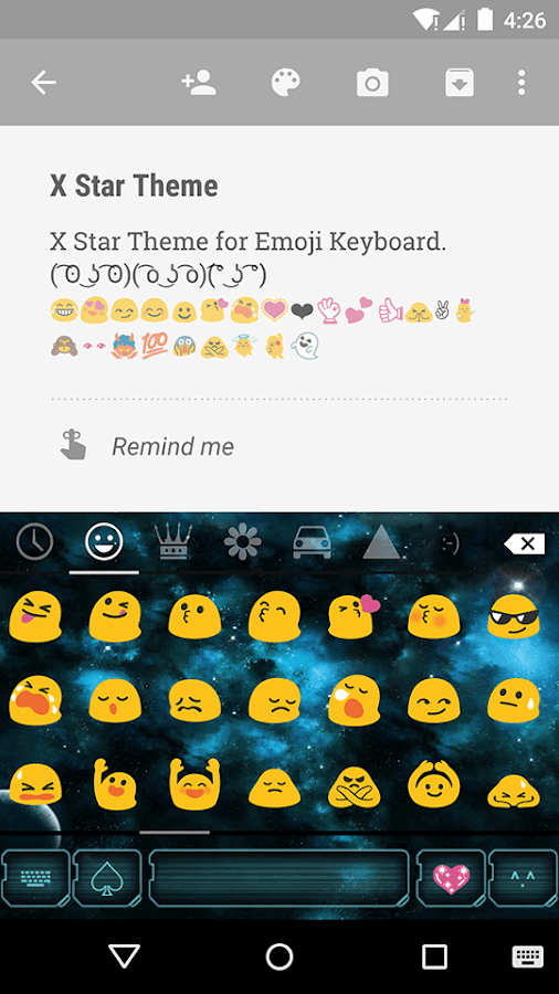 how to change emoji keyboard