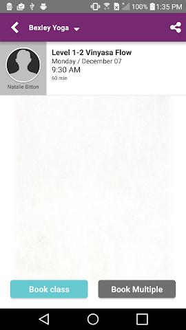 android Bexley Yoga Screenshot 2