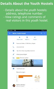 Best Rated Youthhostels Europe screenshot 12