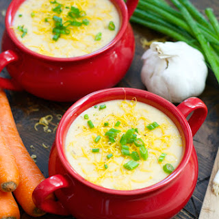 Veggie Packed Potato Soup