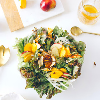 Fall Harvest Salad with Crispy Halloumi + Idaho!