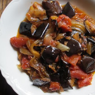 Tomato and Eggplant Compote