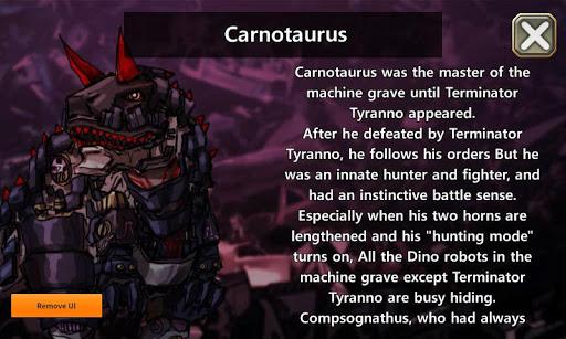 Dino Robot - Carnotaurus 1.0.0 screenshots 1