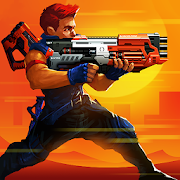 Download Game Game Metal Squad: Shooting Game v2.1.4 MOD - God Mode | Golds | Gems APK Mod Free