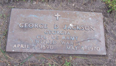 Photo: Jackson, George D. (Vet) World War I