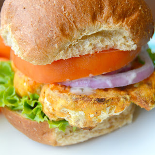 "Buffalo Cauliflower ""Chicken"" Sandwich"