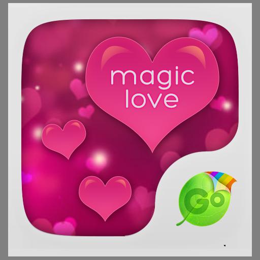 Magic Love GO Keyboard Theme