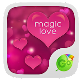 Magic Love GO Keyboard Theme