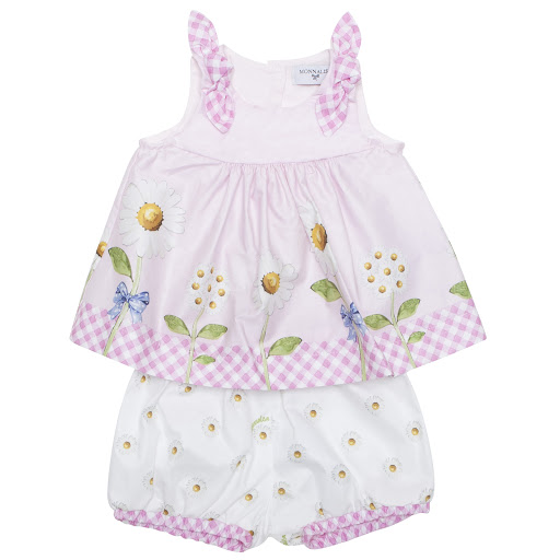 Primary image of Monnalisa Top & Shorts Set