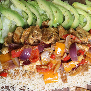 Fajita Spiced Chicken Platter