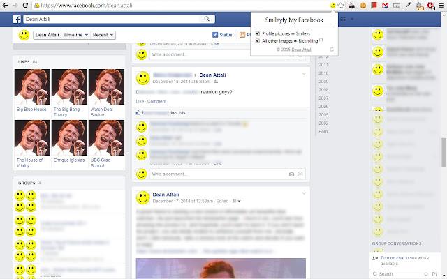 Smileyfy My Facebook