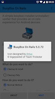 Screenshot of BusyBox On Rails