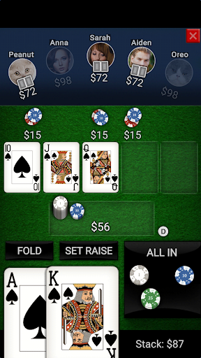 Texas Holdem Offline Poker apkmind screenshots 1